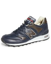 New Balance Made In Uk 577 Sneakers - Blue