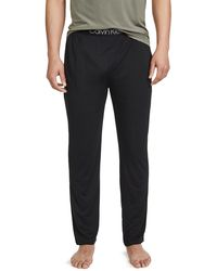 Calvin Klein Ultra Soft Modal Lounge Sweatpants - Black