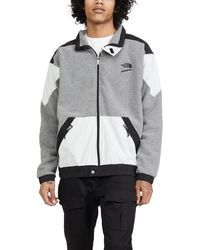 The North Face 1990 Extreme Fleece Full Zip Jacket - Gray