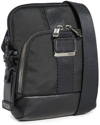 Tumi Alpha Bravo Barksdale Crossbody Bag - Black