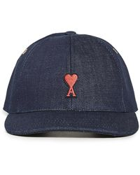 AMI Heart Patch Cap - Blue