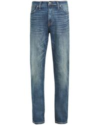 Madewell Athletic Slim Jeans In Seaward - Blue