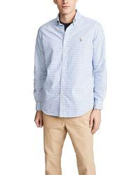Polo Ralph Lauren Check Oxford Sportshirt - Blue