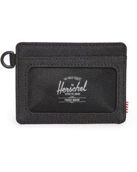Herschel Supply Co. Charlie Id Rfid Wallet - Black