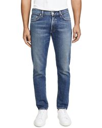 Citizens of Humanity London Slim Tapered Denim Jeans - Blue