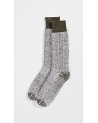 Anonymous Ism - Textured 3-layer Crew Socks - Lyst
