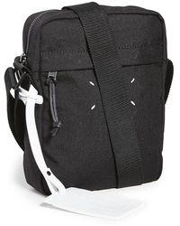 Maison Margiela Adjustable Strap Shoulder Bag - Black