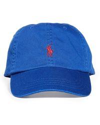Polo Ralph Lauren Classic Pony Sport Cap - Blue
