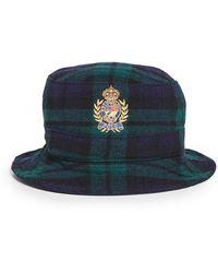 Polo Ralph Lauren Heritage Bucket Hat - Blue