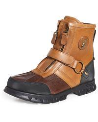 Polo Ralph Lauren Conquest Hi Iii Work Boots - Brown