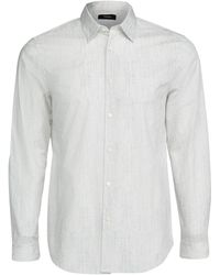 Theory - Irving Pixelate Print Shirt - Lyst