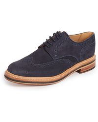 Grenson - Archie Wingtip Brogues - Lyst