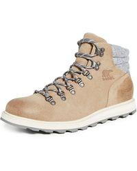 Sorel Madson Hiker Waterproof Boots - Natural