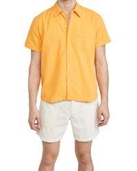 Corridor NYC Horseshoe Pocket Shirt - Yellow