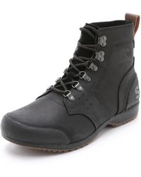 Sorel - Ankeny Mid Hiker Boots - Lyst