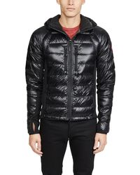 Canada Goose Hybridge Lite Slim-Fit Packable Jacket - Black