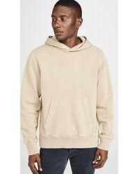 Ksubi Seeing Lines Pullover Hooded Sweatshirt - Natural