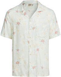 Faherty Brand Kona Camp Shirt - White