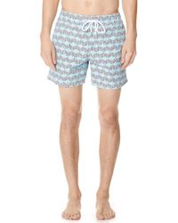 Vilebrequin - Fishes Cube Trunks - Lyst