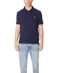 Polo Ralph Lauren - Custom Slim Fit Polo Shirt - Lyst