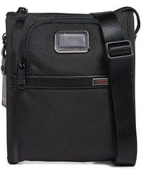 Tumi Alpha Small Pocket Bag - Black
