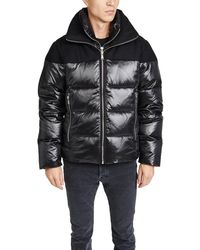 The Very Warm Logan Puffer Jacket - Black