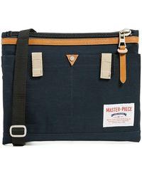 master-piece Link Sacoche Shoulder Bag - Blue