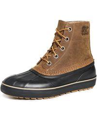 Sorel Cheyanne Metro Lace Up Waterproof Boots - Black