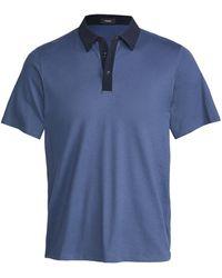Theory Tech Polo Shirt - Blue