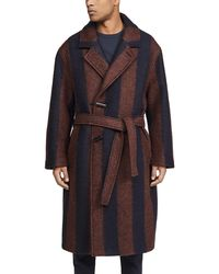 Lemaire Large Overcoat - Blue
