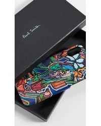 Paul Smith Artist Studio Iphone X Case - Blue