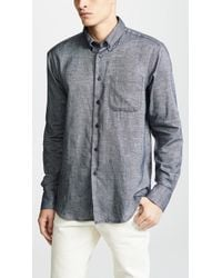 Naked & Famous - Easy Shirt - Mix Twill - Lyst