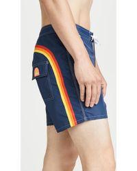 Sundek Solid Swim Shorts - Blue