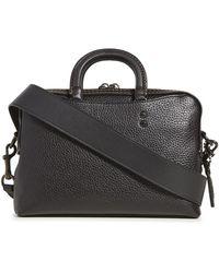 COACH X Michael B. Jordan Rogue Slim Briefcase - Black