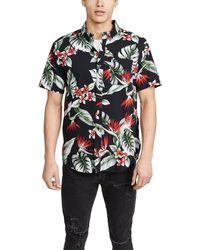 RVCA Short Sleeve Montara Shirt - Black