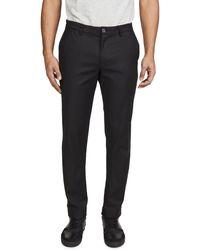 Calvin Klein Modern Stretch Chino Trousers - Black