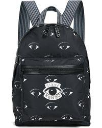 KENZO - Nylon Eyes All Over Backpack - Lyst