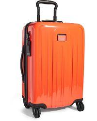 Tumi V4 International Expandable 4 Wheel Carry On Suitcase - Multicolour