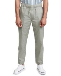 Club Monaco Elasticated Waist Trousers - Grey