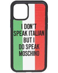 Moschino Iphone 11 Pro Case - Multicolor