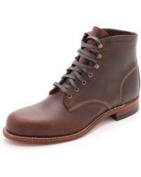 Wolverine Boots - Brown