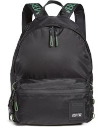 Versace Jeans Couture Nylon Fluo Backpack - Black