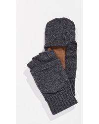 Polo Ralph Lauren - Wool Blend Convertible Mittens - Lyst
