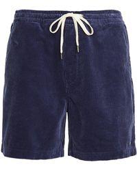 Polo Ralph Lauren 10 Wale Corduroy Shorts - Blue