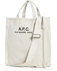 A.P.C. Recuperation Tote - Natural