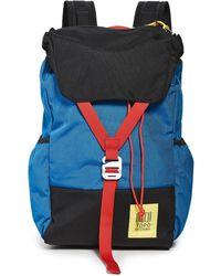 Topo Y-pack - Blue
