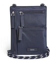 BOSS by Hugo Boss Meridian Neck Wallet - Blue