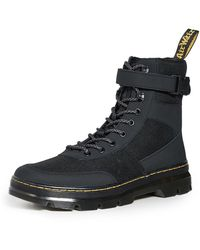 Dr. Martens Tract Fold Boots - Black