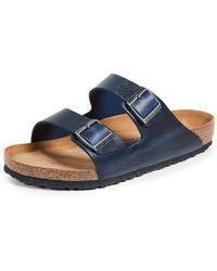 Birkenstock Arizona Birko-flor Sandals - Blue