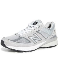 New Balance 990 V5 Trainers - Grey